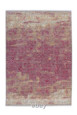 Arte Espina Tapis Moderne Ornement Fioritures Motif Vintage Rose 160x230cm