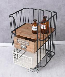 BAR Chariot Vintage de Nourriture Trolley Table Thé Art Déco La Maison Bartisch