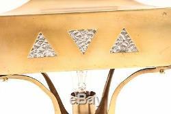 Belle antique lampe art nouveau lampe de bureau lampe de table Vieux Vintage