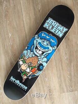 Birdhouse Jeremy Klein Vintage Skateboard Deck Sean Cliver Art