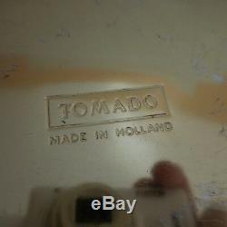 Boite TOMADO métal art nouveau made in HOLLAND vintage XXe art déco PN France