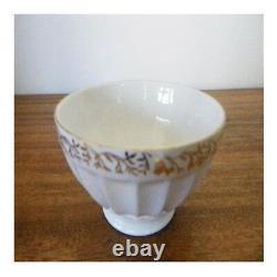 Bol céramique porcelaine LONGCHAMP art nouveau design XXe vintage PN France N90