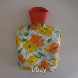 Bouillote hot water bottle ESKIMO vintage art nouveau déco XXe France