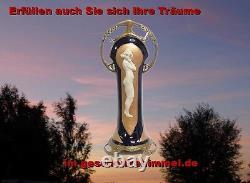 Bronze Porcelaine Figurine Sculpture Art Nouveau Vintage Limitiertgeschenk