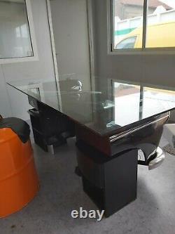 Bureau vintage design decoration voiture salon collection meuble ordinateur art