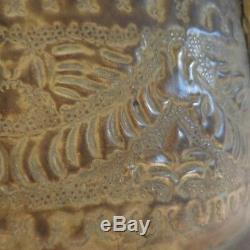 Cache-pot saut en cuivre laiton authentique vintage art-déco antiquité