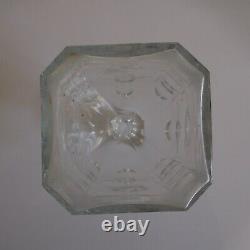 Carafe cristal vintage art nouveau déco table France Europe design XX 1920 N4985