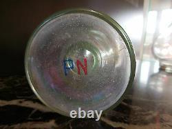 Carafes en verre art-déco art nouveau vintage 1920-50 CERAMIC by PN