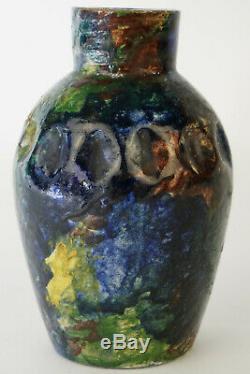 Céramique MAX CLAUDET VASE, ceramic vintage art deco, pottery art nouveau design