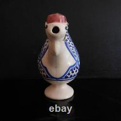 Céramique dromadaire fait main Maroc vintage art déco design PN France N2946