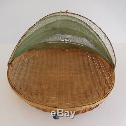 Cloche à fruits légumes vintage 1900 1920 fait main