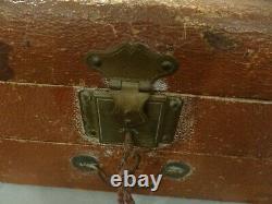 Coffret jeux reunis JLR 1900 art nouveau clé ancien vintage no circa no saussine