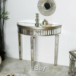 Copié Demi Lune Console Table Art Déco Vintage Salle à Manger Hall Meuble