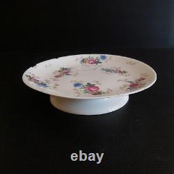 Coupe céramique porcelaine Limoges SALMON & Cie France vintage art nouveau N3974