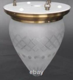 Couvrir Lampe Art Nouveau Lumières Laiton Abat-Jour Cadeau Vintage Espace Déco