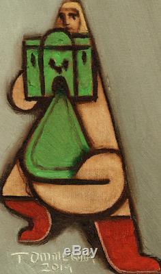 He-Man Figurine Château Vintage Grayskull Art Pop Peinture Motu