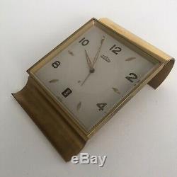 Horloge Pendule De Bureau Angelus Réveil Vintage Antique Angelus Office Clock