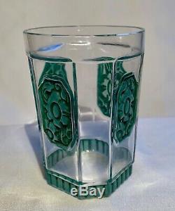 Julien Viard Verre Art Deco Vintage Glass Jar Perfume Art Nouveau 1920