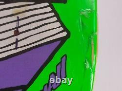 Krooked skateboard nos deck 2005 rare vintage Mark Gonzales art