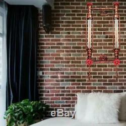 LED Vintage DIY Art Design Industriel 2 Abat-jour Lustre Suspension Applique