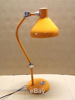 Lampe de Bureau JUMO GS 1 Vintage Design Industriel XXe 1950 La lampe est ancie