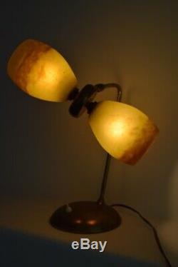 Lampe vintage années 50 60 design art nouveau vintage design art déco Rethondes