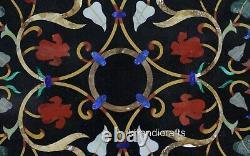 Marbre Réception Table Haut Avec Art Vintage Et Artisanats Dîner Pierres Travail