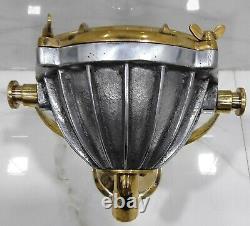 Marine Vintage Style Nautical Boat Cargo Brass & Aluminium New Spot Light