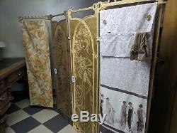 Mini dressing room A&O Art Nouveau Paravent (Paravent Vintage)