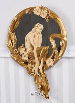Miroir Art Nouveau Style Vintage Décoration