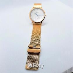 Montre femme a. B. Art FG36-001-7S Rose Gold Acier inoxydable