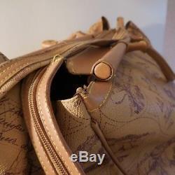 N1992 Sac de voyage travel bag style Belle époque antiquité vintage art déco PN