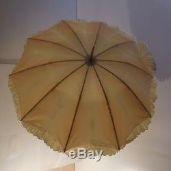 N2005 ombrelle Belle époque art nouveau déco 1900 1920 vintage fait main France