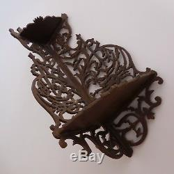 N2755 Etagère de coin sculpture fait main Germany vintage art déco PN France