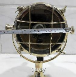 Nautical Maritime Vintage Style Marine Boat Cargo Brass New Search Spot Light
