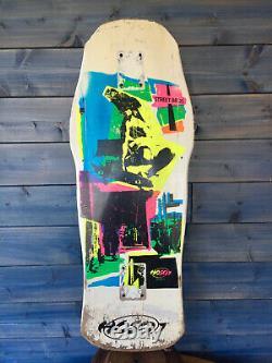 OG CHRISTIAN HOSOI POP ART Vintage DECK SKATEBOARD COLLECTOR NO SANTA CRUZ G&S