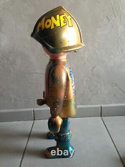 Playmobil piscou love money custom xxl 68cm-loft-vintage-rétro-design-pop art
