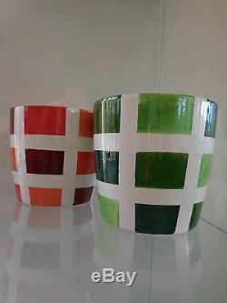 Pots cache-pots faïence art-déco art-nouveau vintage CERAMIC by PN