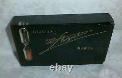Publicitaire Rare Ancien Vintage Antiquaire Bijoux Rene Longuet Paris Sablier