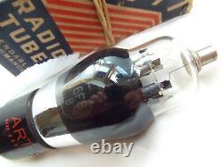 ROUND PLATE 6F8-G (VT-99)TUBE LAMPE ART by TUNG-SOL TUNGSOL TESTED NOS NIB =°=