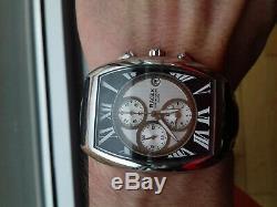 Racer Orient Chronographe Art Déco 8 YM6704-3 Montre Vintage Collection NOS