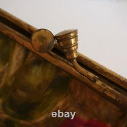 Sac à main femme vintage 1920 Belle époque Art nouveau déco XXe PN France N2830