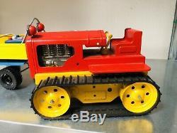 Sommavilla Art. 1046 Tracteur Avec Remorque Tin Jouet Italie Vintage