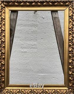 Style Ancien Cadre Photo Vintage Art Nouveau Art-Nouveau Antique 44,5 X 33,5 CM