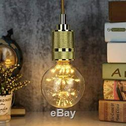 TianFan Ampoule LED vintage RGB Lumière étoilée Ampoule Décorative feu d'art