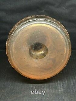 Vase Art Deco nouveau Vintage Verre Souflet modele unique