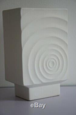 Vase céramique faïence vintage années 70 psychédélique graff pop art