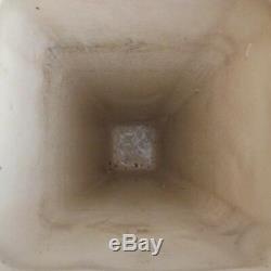 Vase céramique faïence vintage art nouveau déco design XXe PN France N2834