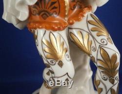 Vintage Art Nouveau Schwarzburger Werkstatten Porcelaine Lady Figurine