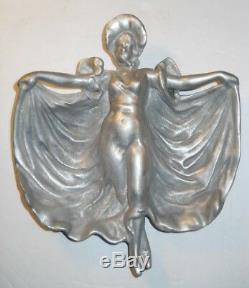 Vintage Art Nouveau pemco Baltimore Sable de Moulage Moule Glamour Fille